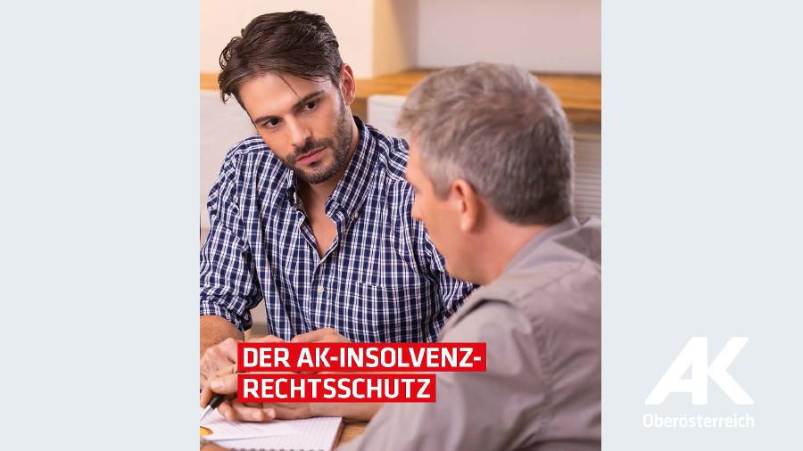 Broschüre: Der AK-Insolvenzrechtsschutz © -, Arbeiterkammer Oberösterreich