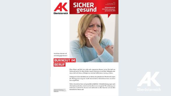 Wandzeitung Sicher Gesund 2015 - Nr. 2 © -, Arbeiterkammer Oberösterreich