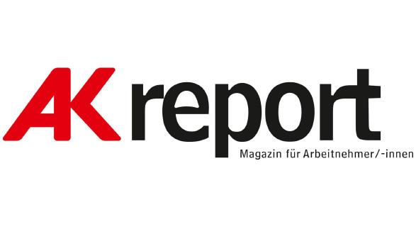 Logo AK Report © -, Arbeiterkammer Oberösterreich