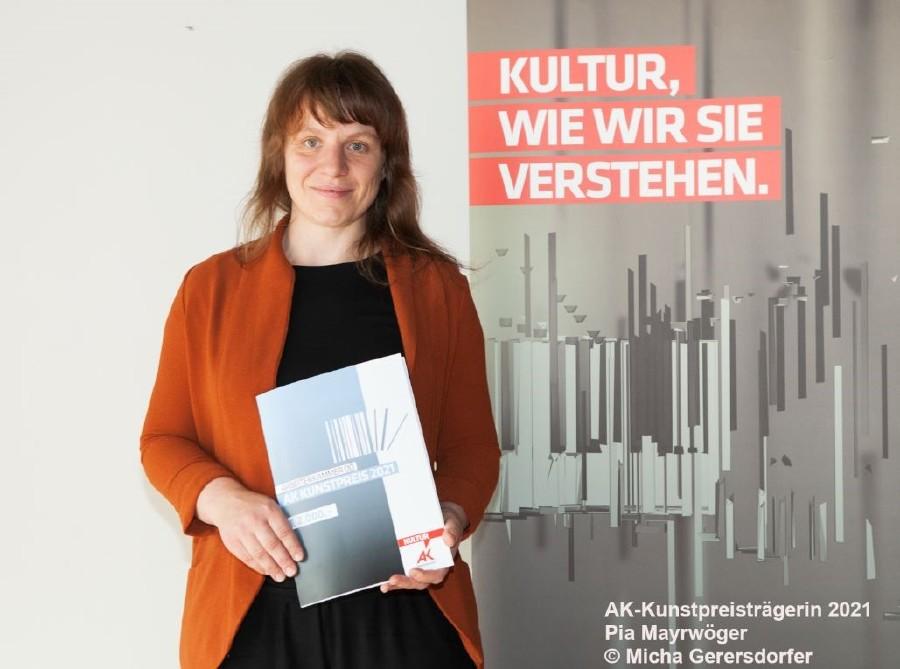 AK Kunstpreisträgerin 2021 Pia Mayrwöger © Micha Gerersdorfer, -