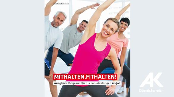 Broschüre mithalten.fithalten © -, Arbeiterkammer Oberösterreich