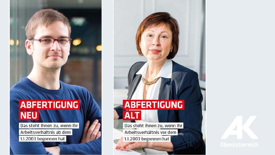 Broschüren Abfertigung © -, Arbeiterkammer Oberösterreich