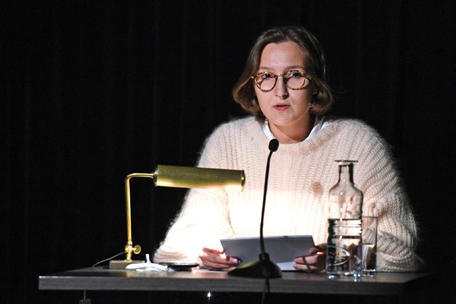 Jurypreisträgerin Mercedes Spannagel © Wolfgang Spitzbart, Arbeiterkammer Oberösterreich