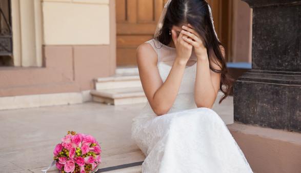 Traurige Braut © Antonio Diaz, stock.adobe.com
