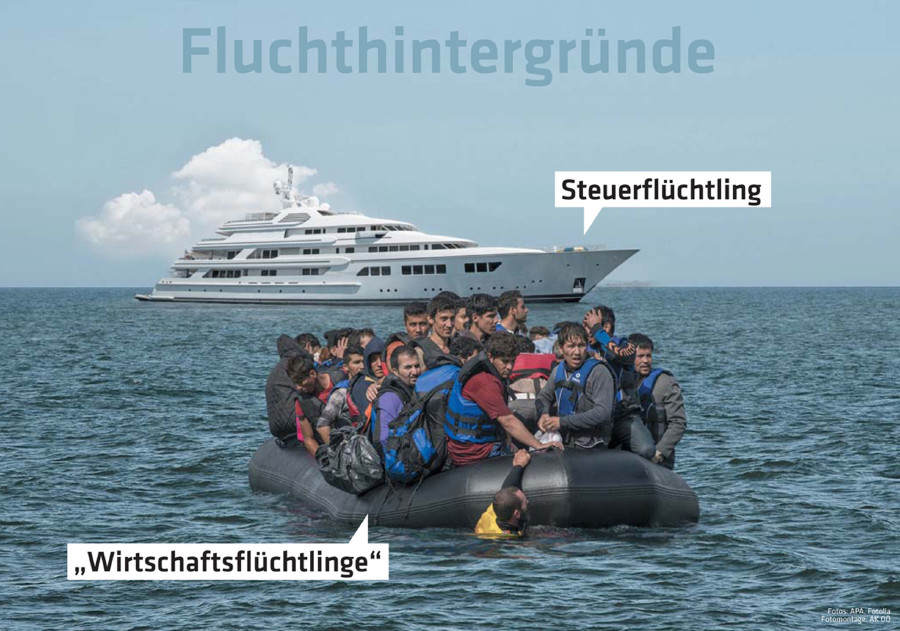 Steuertricks: Wer bietet weniger? Eine multimediale Reise ins Reich der Steueroasen – AK Wanderausstellung © -, AK Oberösterreich