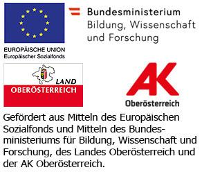 Logos zum geförderten Bildungsprojekt © -, Arbeiterkammer Oberösterreich