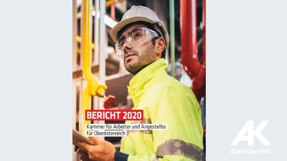 Cover AK-Bericht 2020 ©  , Arbeiterkammer Oberösterreich