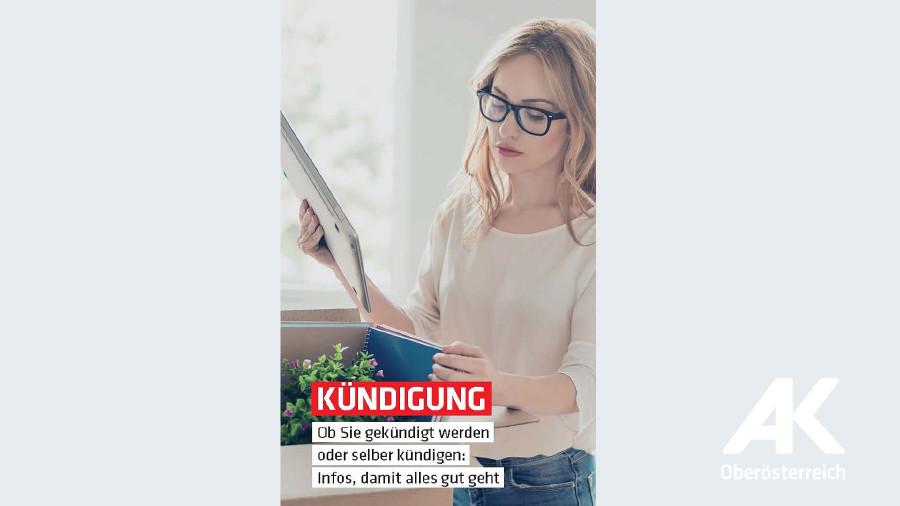 Broschüren-Cover Kündigung © -, Arbeiterkammer Oberösterreich