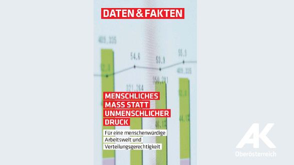Menschliches Mass statt unmenschlicher Druck © -, Arbeiterkammer Oberösterreich