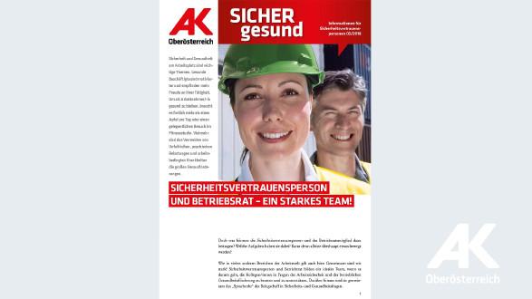 Wandzeitung Sicher Gesund 2018 - Nr. 3 © -, Arbeiterkammer Oberösterreich