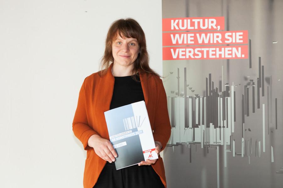 AK-Kunstpreisträgerin Pia Mayrwöger © Micha Gerersdorfer,