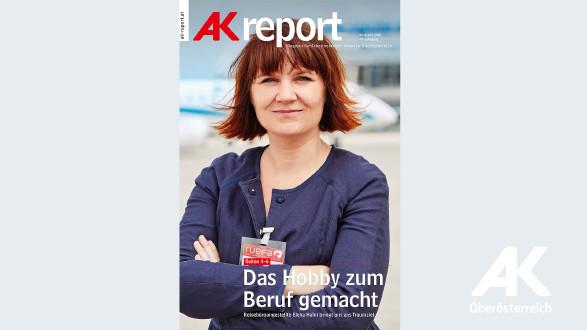 Cover AK-Report 2018 Nr. 4 © -, Arbeiterkammer Oberösterreich