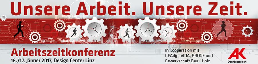 Bild zur Tagung: Unser Arbeit. Unsere Zeit © -, AK Oberösterreich