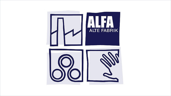 "Logo ""Alte Fabrik"" - Österr. Papiermachermuseum © -, Veranstaltungszentrum ALFA (""Alte Fabrik"")"