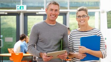 Lehrer auf Fortbildung © micromonkey , stock.adobe.com