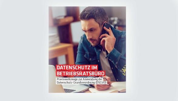 Broschürencover - Datenschutz im Beriebsratsbüro © AK Oberösterreich
