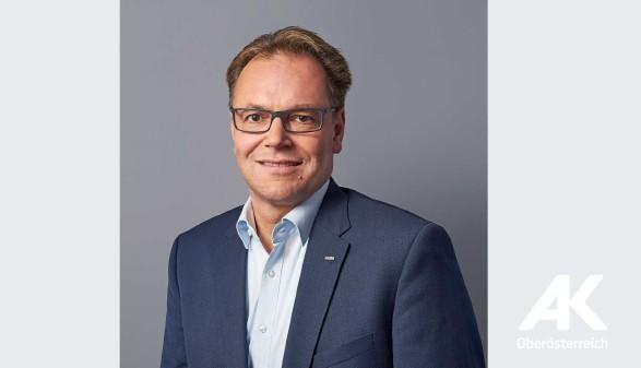 Neu im AK-Vorstand Reinhard Streinz (FSG) © Erwin Wimmer, AK Oberösterreich
