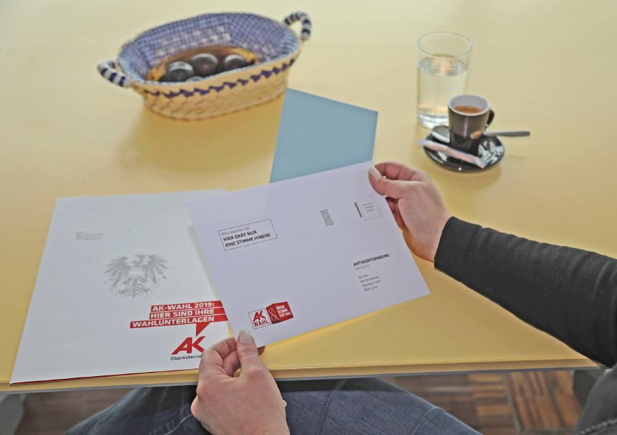 AK Briefwahl © -, Arbeiterkammer Oberösterreich