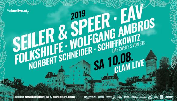 Plakat Seiler & Speer | EAV © www.clamlive.at