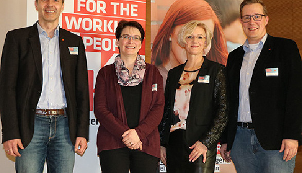 Jugendnetzwerktagung Innviertel mit Wolfgang Schwarz, Tanja Jadin, Regina Edthaler und Stefan Wimmer © Arbeiterkammer Oberösterreich, -