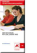 Checkliste © AK Wien, AK Wien