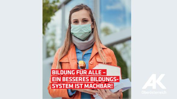 Broschüre: Bildung für alle © -, AK OÖ