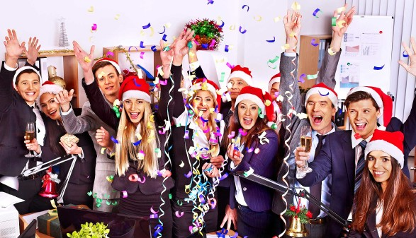 Weihnachtsfeier in der Firma © Gennadiy Poznyakov, stock.adobe.com