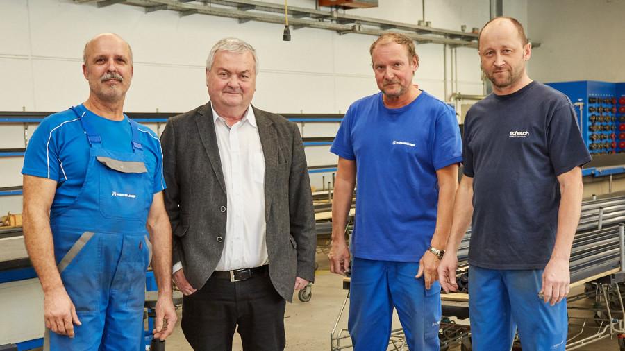 Betriebsbesuch in der Firma Röchling Leripa Papertech © -, Arbeiterkammer Oberösterreich