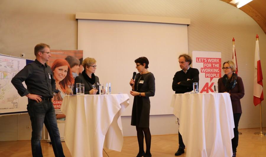 Jugendnetzwerktreffen in der AK Gmunden © AKOÖ, -