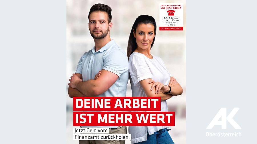 Broschüre: Deine Arbeit ist mehr wert © -, Arbeiterkammer Oberösterreich