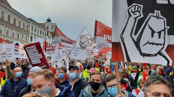 MAN Demo in Steyr © Arbeiterkammer Oberösterreich, -