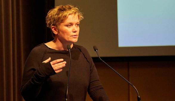 Corinna Milborn ist Gastrednerin bei der Vollversammlung der AK Oberösterreich © AK Oberösterreich