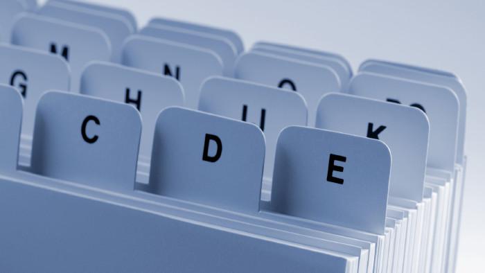 Buchstabenregister © demarco, stock.adobe.com
