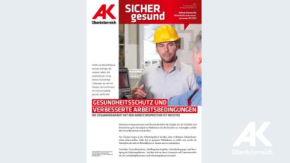 Wandzeitung Sicher Gesund 2017 - Nr. 3 © -, Arbeiterkammer Oberösterreich