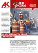 Wandzeitung Sicher Gesund 2018 - Nr. 1 © AK OÖ, -