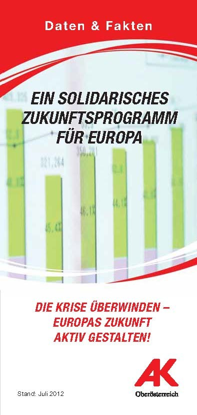 Ein solidarisches Zukunftsprogramm für Europa © AKOÖ, AKOÖ