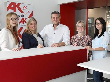 Das Team der Arbeiterkammer Linz-Land © Arbeiterkammer Oberösterreich, -