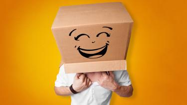 Schachtel mit aufgezeichnetem Smilie © ra2 studio , stock.adobe.com