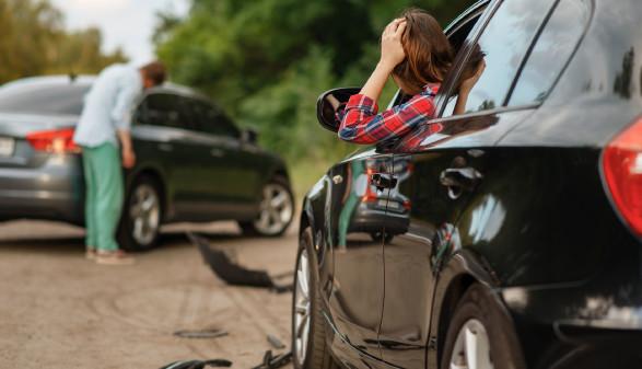 Verkehrsunfall mit Blechschaden © Nomad_Soul , stock.adobe.com
