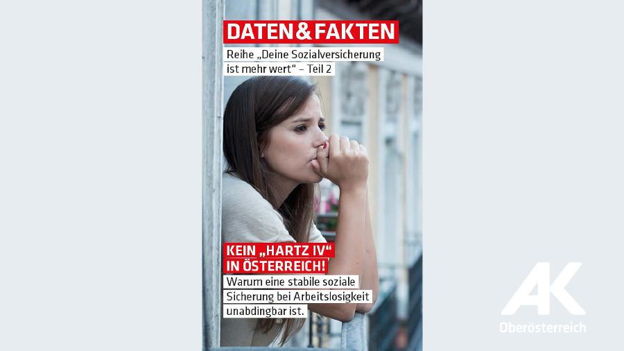 """Kein """"Hartz IV"""" in Österreich © -, Arbeiterkammer Oberösterreich"""