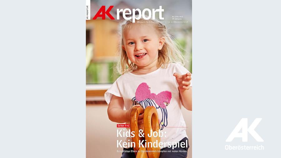 Cover AK-Report 2018 Nr. 3 © -, Arbeiterkammer Oberösterreich