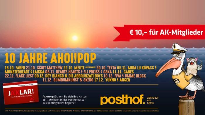 10 Jahre AHOI!POP © -, AK OÖ