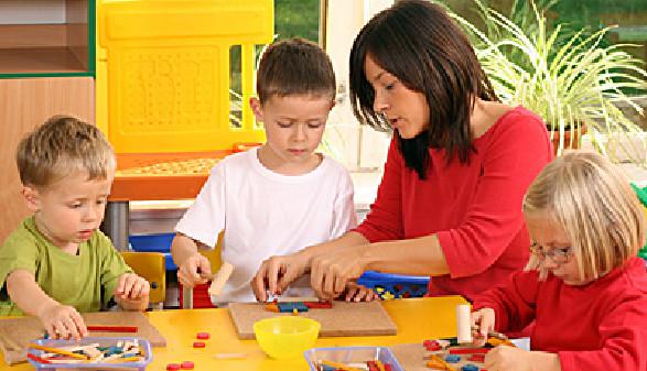 Benötigt Ihr Nachwuchs einen Kinderbetreuungsplatz? Dann beantragen Sie Zuschuss zum Kinderbetreuungsgeld! © Monika Adamczyk, fotolia.com