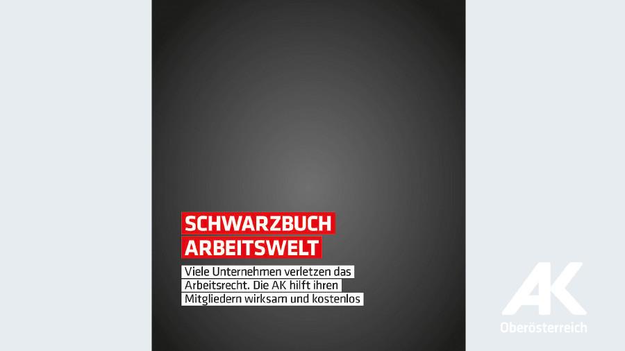 Broschüre Schwarzbuch Arbeitswelt © -, Arbeiterkammer Oberösterreich