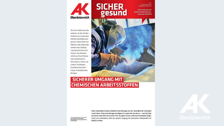Wandzeitung Sicher Gesund 2016 - Nr. 2 © -, Arbeiterkammer Oberösterreich