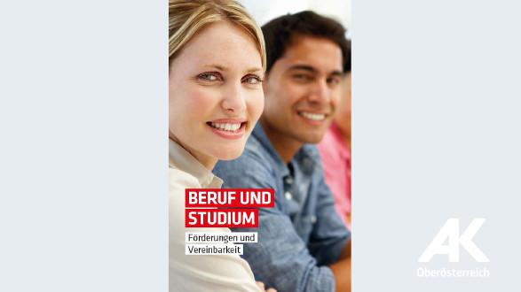 Broschüre Beruf und Studium © -, Arbeiterkammer Oberösterreich