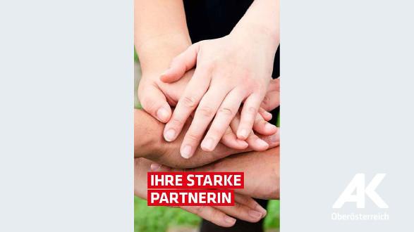Broschüre: Ihre starke Partnerin © -, Arbeiterkammer Oberösterreich