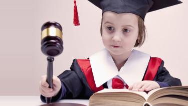 Kind mit Gesetzbuch © zwiebackesser, stock.adobe.com