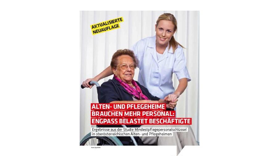 Pflegepersonal: Engpass belastet die Beschäftigten © AK Oberösterreich
