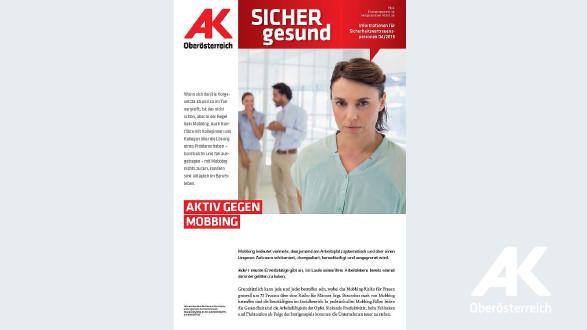Wandzeitung Sicher Gesund 2016 - Nr. 4 © -, Arbeiterkammer Oberösterreich
